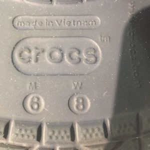 CROCS Shoes - Navy and white Crocs